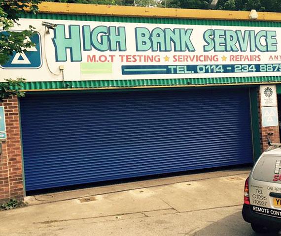 High-Bank-Garage-Roller-Shutter
